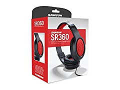 Samson Over-Ear Dynamic Stereo Headphones