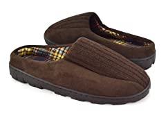 Men's MUK LUKS ® Ribbed Scuff with Berber Lining