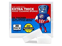 20pk Extra-Thick Power Clean Magic Eraser