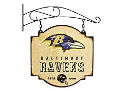 Baltimore Ravens Vintage Tavern Sign