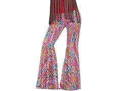 Women's Wild Swirl Bell-Bottom Pants