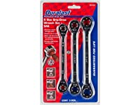 Deals on Grip-Tite/Duralast 6-Size Grip Drive Wrench Set (SAE or Metric)