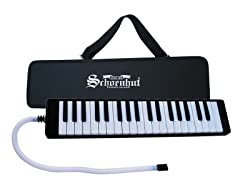 37-Key Melodica- Black