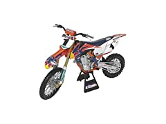 Orange Cycle Parts Die-Cast Replica Toy