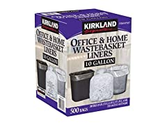 Kirkland Signature Wastebasket Liners