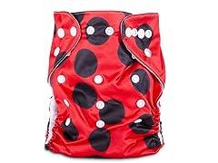 JSB Ladybug Cloth Diaper