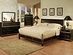 Soho 6-PC Bedroom Set (3 Sizes)