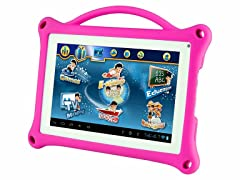 "7"" Tablet w/ Silicone Case - Pink"