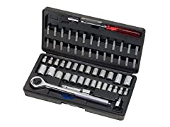 Socket and Bit Set, 60-Piece