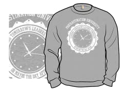 """Procrastination University"" Crewneck"