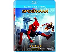 Spider-Man: Homecoming (Blu-ray + DHD)