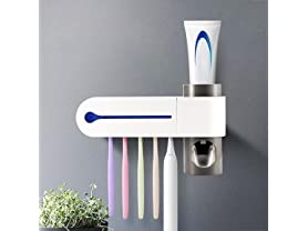 SwissTek 3 in 1 Ultraviolet Toothbrush Sterilizer