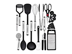 Hero Kitchen Utensil Set - 23 Nylon Cooking Utensils