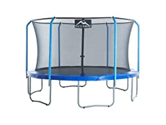SKYTRIC 11 or 13 Ft. Trampoline with Top Ring Enclosure System