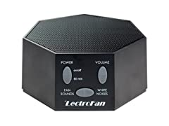 LectroFan White Noise Machine- Black