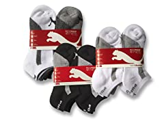 Puma Boys Socks (6pk) - Your Choice