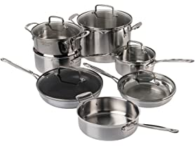 Cuisinart 12-Piece Triply Cookware Set