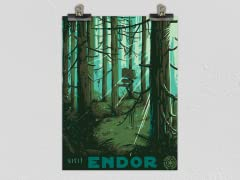 """""""Visit the Forest Moon"""" Matte Poster"""