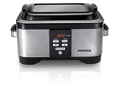 Hamilton Beach Pro Sous Vide Water Oven & Slow Cooker