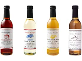 Sonoma Syrup Co Flavored Syrups (4)