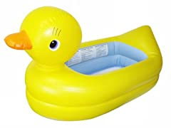 Munchkin Inflatable Duck Safety Tub