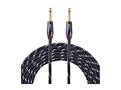 "ADM Guitar Cable 1/4"" w/ Adapter - 10ft"