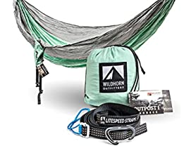 Outpost Single or Double Camping Hammock