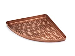 MultiPurpose Corner Tray - Copper, 22.5""