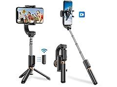 Apexel Selfie Stick w/ Gimbal Stabilizer