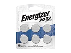 Energizer 3V Coin Cell Watch Batteries - 6 Pack