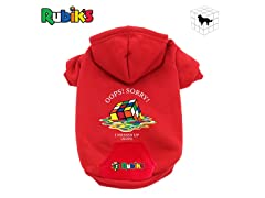 Rubik's Pet Hoodie, Size Small, Your Choice