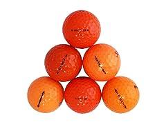 36pk of Reload Recycled Premium Proline Mix Orange Golf Balls