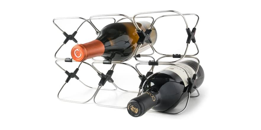 Rabbit space saving wine rack Wine racks for small spaces pict