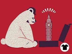 Tourist Bear Visits London