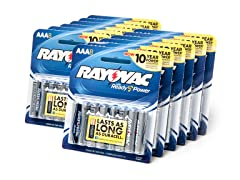 AAA Alkaline Batteries - 96 Pack