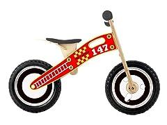 Wooden Balance Bike Fire & Rescue