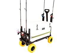 Expandable Cooler Caddy Fishing Cart