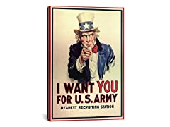 Uncle Sam by j. M. Flagg (Your Choice)