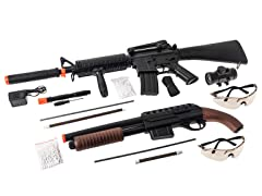 Rifle/Shotgun Airsoft Combo Pack