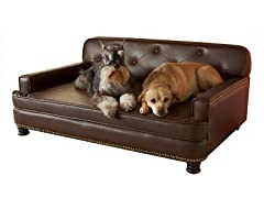 Library Sofa - Brown