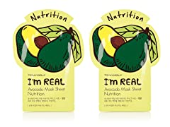 I'm Real Avocado Mask Sheet - Nutrition - Twin Pack