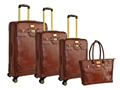 Lizzard 4-Piece Luggage Set