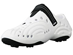Dawgs Wht/Blk Golf Shoes (Youth Sizes)