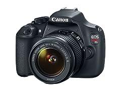 Canon Rebel T5 DSLR Camera w/18-55 lens