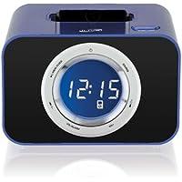 iLive ICP211BU Digital Clock w/FM Radio