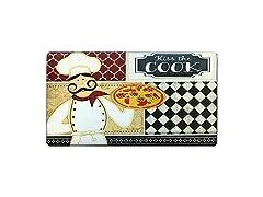 Oversized Kiss the Cook Mat
