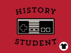 History Student: Gamer