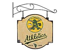 Oakland Athletics Vintage Tavern Sign