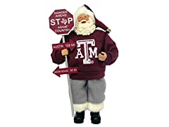 "NCAA 12"" Country Santa"