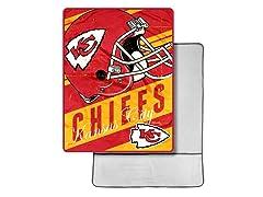 Kansas City Chiefs Foot Pocket Throw
